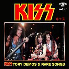 KISSTORY @DEMOS CD-21 RARE KISS !!! (Vinnie Vincent/Jeff Scott Soto/Guitars Hell