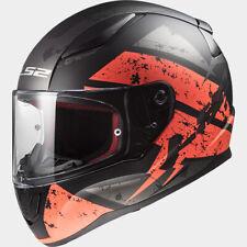 LS2 FF353 RAPID Matt Orange Deadbolt Full Face Motorcycle Helmet