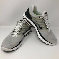Nike Mens Lunarglide 2 Running Shoes Gray 407648-100 Low Top Lace Up 11.5 M