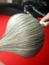 New Light Grey Horse Tail Hair 85-87cm 240g