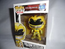 Figurine - Pop! Movies - Power Rangers - Yellow Ranger - Vinyl - Funko