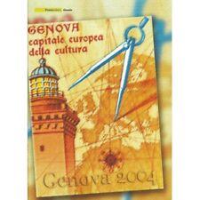 2004 ITALIA REPUBBLICA FOLDER GENOVA 2004 MF1102