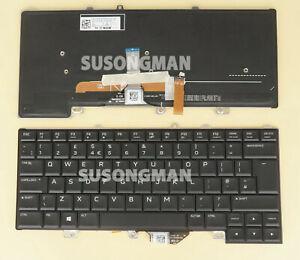 New UK Keyboard For DELL Alienware 13 R3 15 R3 15 R4 Backlit Black