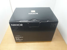 Nikon NIKKOR Z 50mm F/1,8 S Objektiv - NEU mit Garantie