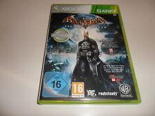 Xbox 360 Batman: Arkham Asylum-Classics