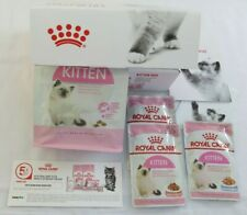 Royal Canin ❤️ Kitten Food❤️ Starter Kit Includes 3 x Wet & Dry 400g Food ❤️ NEW