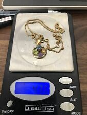 """14KT Yellow GOLD Necklace Length 20"""" Weight 4.36 Grams"""