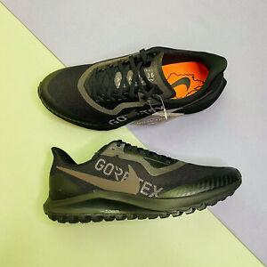 Nike Zoom Pegasus 36 Trail GTX Gore-Tex Mens Black UK8 EUR 42.5 US 9 BV7762 001