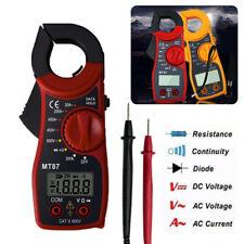 Digital LCD Clamp Meters AC/DC Voltage AC Current Tester Ohmmeter Multimeter