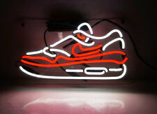 TN076RW Sneakers Shoe Store Fun Poster Nike Decor Neon Light Sign LED 14x7 New