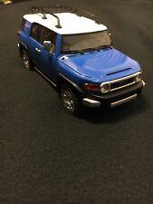 1/18 AUTOart TOYOTA FJ Cruiser Blue Diecast SUV Limited RARE!