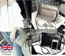 Fashion Women Ladies Leather Clutch Bag Handbag Shoulder Messenger Cross Body