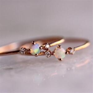Present Twig Floral Finger Band Jewelry Gift Gifts Trinket Unique Rhinestone SG
