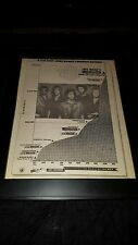 Night Ranger When You Close Your Eyes Rare Original Radio Promo Poster Ad Framed