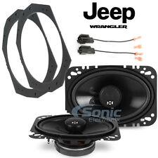 Jeep Wrangler Tj 97-06 4 x 6 Front Speaker Upgrade NSP46, 82-1011, 72-6512