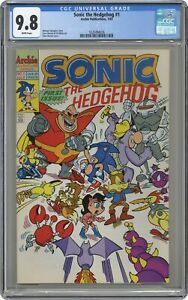 Sonic the Hedgehog #1 CGC 9.8 1993 Archie 1620494036