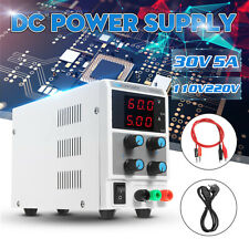 30V 5A DC Power Supply Variable Digital Adjustable Lab Grade Test 220V 230V 240V