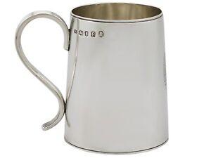 Antique Georgian Sterling Silver Lady's Mug 1790
