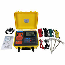 H●SHANYI S480 Ground Resistance / Soil Resistivity Tester New