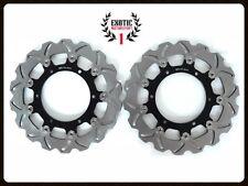Front Brake Disc Rotors Set For Yamaha V Star 1100 2004-2007 V Max 1993-2007