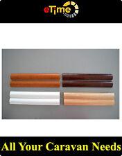 Cappings moulding timber  - walnut color for Caravan Motorhome boat
