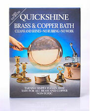 BRASS CLEANING BATH - CLEANS BRASS ITEMS INSTANTLY AND EASILY