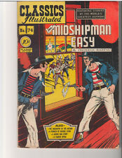 Classics Ill 74 (1950): Mr. Midshipman Easy: Orig: Free to combine- in Very Good