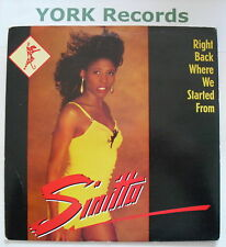 """SINITTA - Right Back Where We Started From - Ex Con 7"""""""
