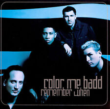 COLOR ME BADD - REMEMBER WHEN rare Single cd 3 mixes 1998