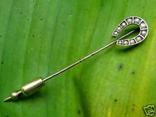 Reversnadel Nadel Hufeisen Gold 585 Zuchtperlen antik