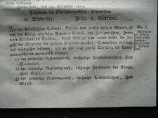 1814 Mitglieder der Gerichtskommision zu Halberstadt