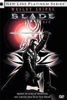 Original Sealed Wrap!! - Blade (DVD, Platinum Edition) - Wesley Snipes - Blu-Ray