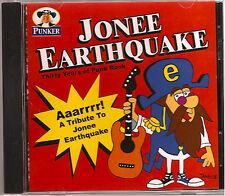 AAARRRR! A TRIBUTE TO JONEE EARTHQUAKE Compilation CD Boston Punk Bands VA 2009