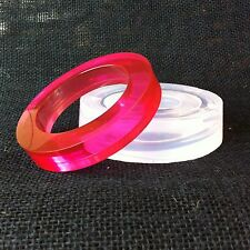 CLEAR SILICONE MOLD,(MB048) FOR WIDE BANGLE BRACELET!
