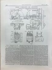 Forced Lubrication For Axle Boxes: 1908 Engineering Magazine Print