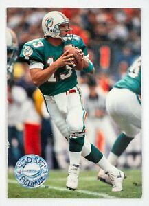 Dan Marino #62 (1991 Pro Set Platinum) Football Card, Miami Dolphins