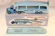 Dinky Toys 982 Pullmore Car transporter near mint in box all original condition