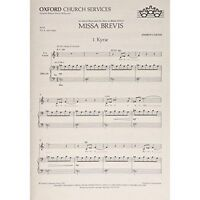 Missa Brevis: Vocal Score by Oxford University Press (Sheet music, 1995)
