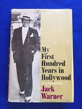 MY FIRST HUNDRED YEARS IN HOLLYWOOD. AN AUTOBIOGRAPHY - INSCRIBED BY JACK WARNER