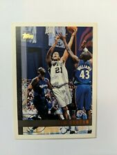 Tim Duncan 1997-1998 Topps Rookie Card #115 RC