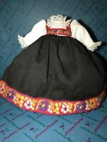 """Madame Alexander 8"""" outfit  replacement dress Tagged Authentic Norway"""