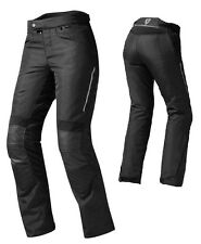 PANTALONI MOTO DONNA WOMAN REV'IT REVIT FACTOR 3 NERO IMPERMEABILE TG 38(42) M