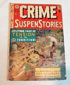 EC Crime Suspenstories #15 Golden Age Pre Code Horror Crime 1952