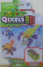 Qixels 3D ~ Alien Strikers 3D Refill Pack ~ Includes 300 3D Cubes