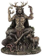 """9"""" Cernunnos Sitting Statue Sculpture Celtic God Figure Figurine Decor"""