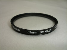 CANON  52mm  UV HAZE  filter .   Philippines