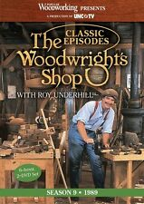 NEW! The Woodwright's Shop with Roy Underhill Season 9 [DVD]