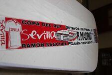 BUFANDA PARTIDO DE LIGA ENTRE EL SEVILLA FC Y EL REAL MADRID COTIZADA   SCARF
