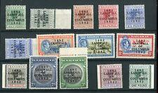 Bahamas KGVI 1942 Columbus Anniversary set SG162/75a MNH
