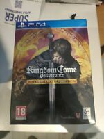 kingdom come deliverance royal collector's edition ps4 ps playstation 4 neuf